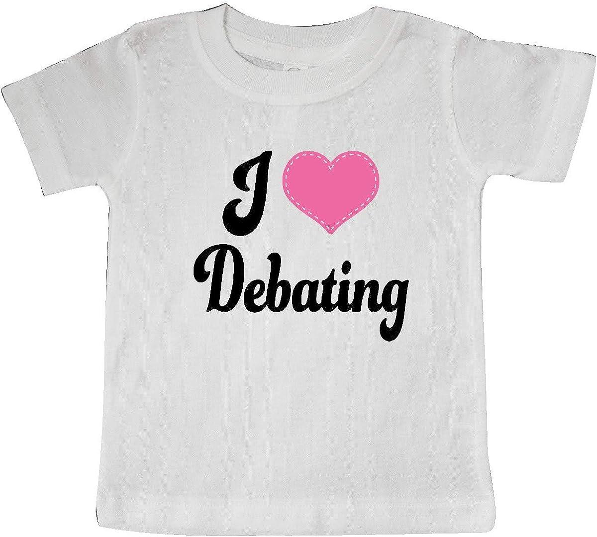 inktastic I Love Debating Baby T-Shirt