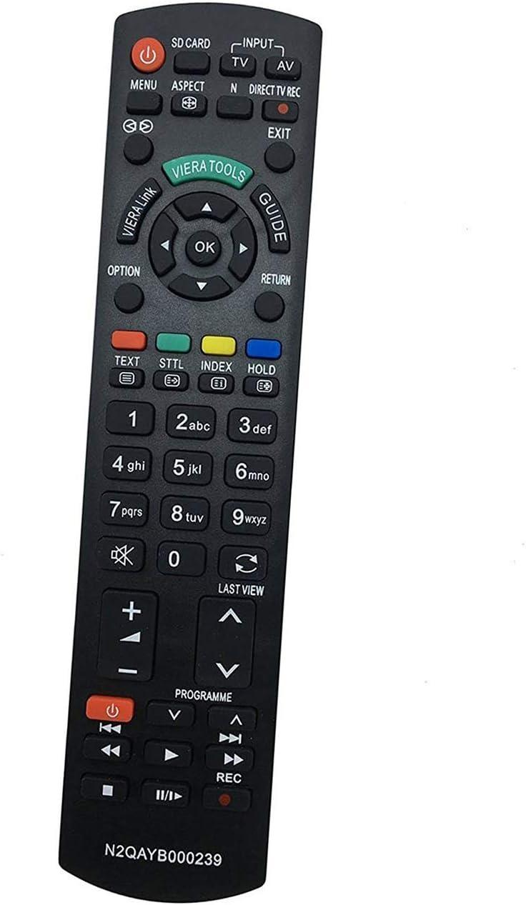 ALLIMITY N2QAYB000239 Control Remoto Reemplazar por Panasonic Viera LCD TV TH-37PX80BA TH-42PX80EA TH-42PZ80B TH-42PZ80E TH-42PZ83E TH-42PZ82E TH-42PZ85E TH-46PZ83E TX-26LXD80 TX-32LZD85 TX-37LZD85: Amazon.es: Electrónica