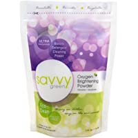 Savvy Green, Oxygen Brightening Powder Lbs, Unscented, 40 Ounce