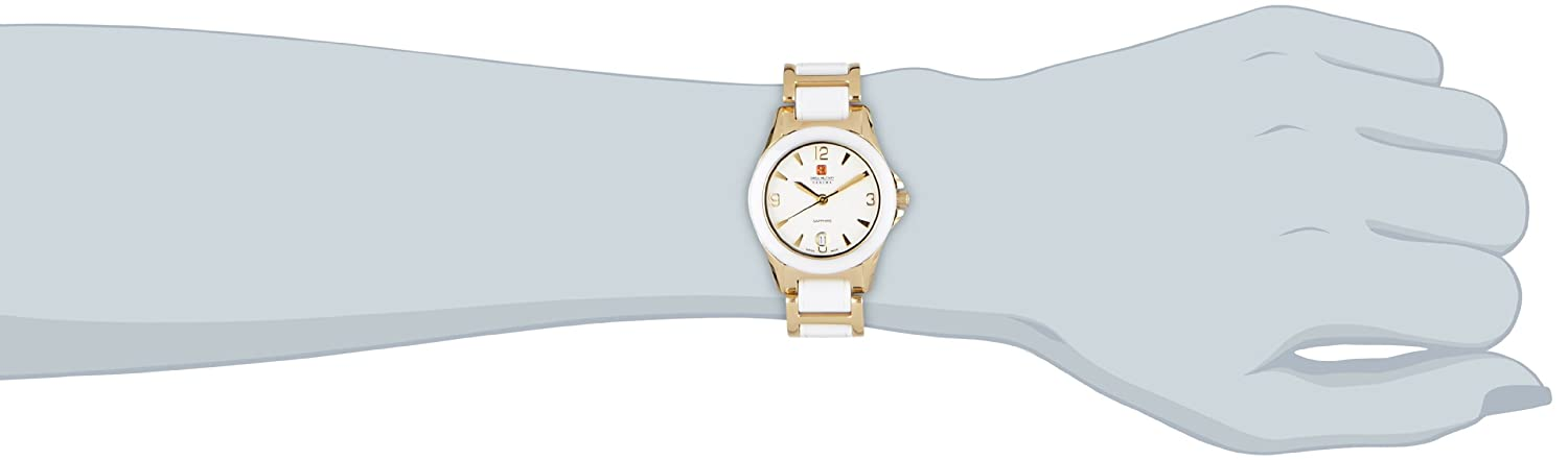 Amazon.com: Hanowa Swiss Military Classic Womens With Ceramic Elements: Watches