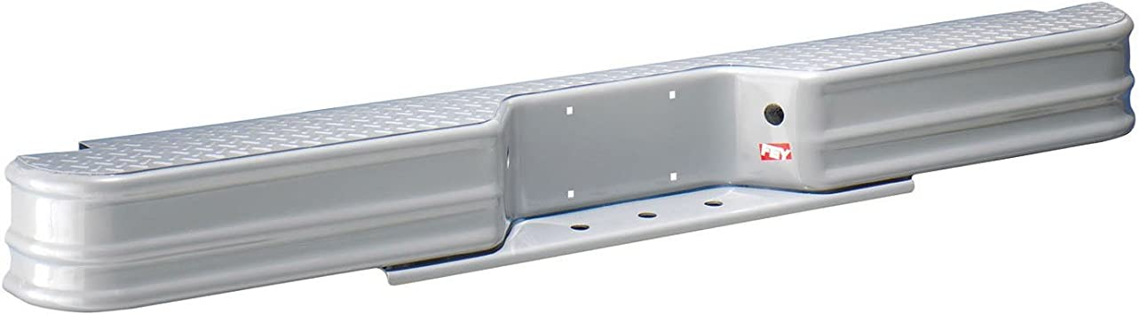 Fey 20002 DiamondStep Universal Black Replacement Rear Bumper Requires Fey Vehicle Specific mounting kit Sold Separately