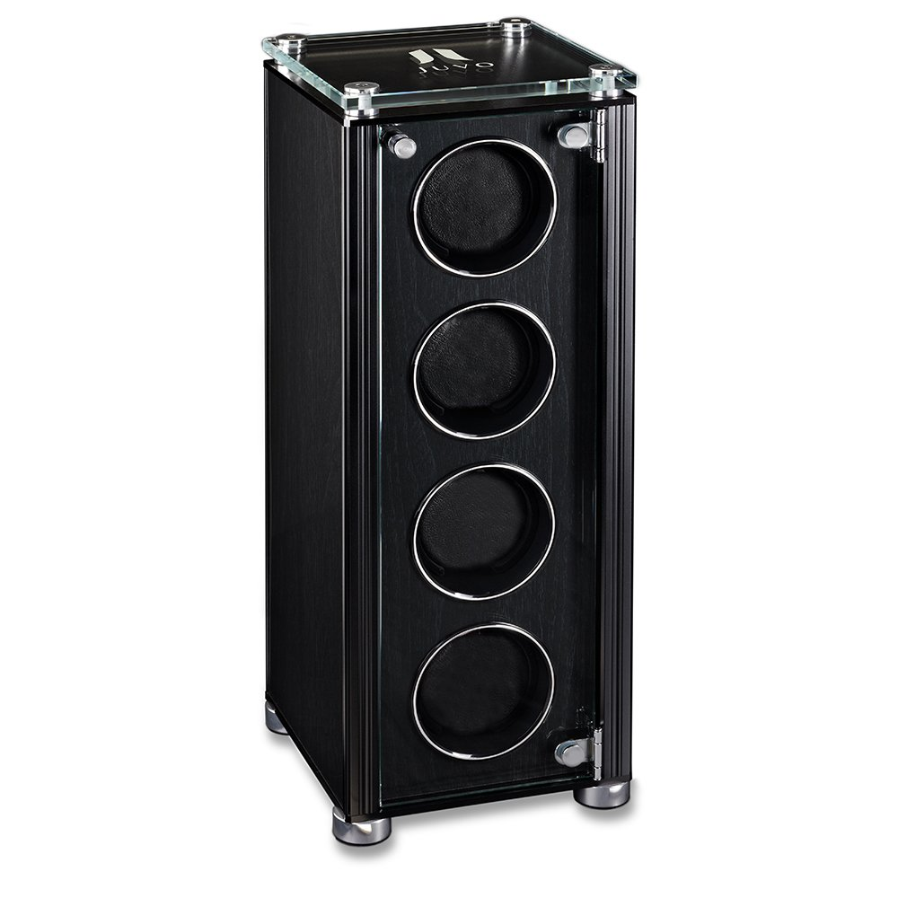 Quad Automatic Watch Winder For Men's Automatic Watches, JUVO M4 Black