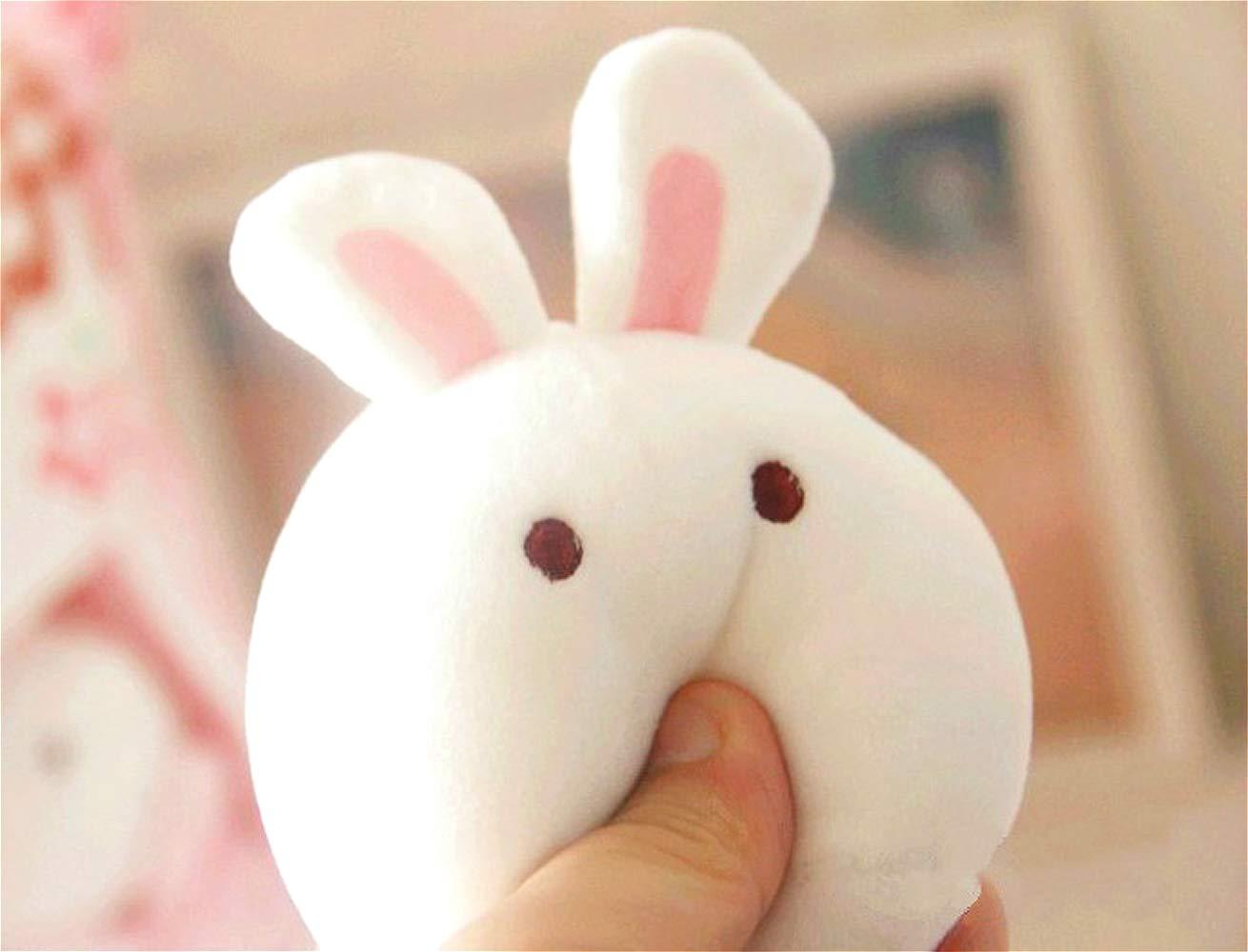 Nenalayo Cute Throw Pillow Stuffed Animal Toys Removable Fluffy Bunnies Creative Gifts for Teens Girls Kids by Nenalayo (Image #6)