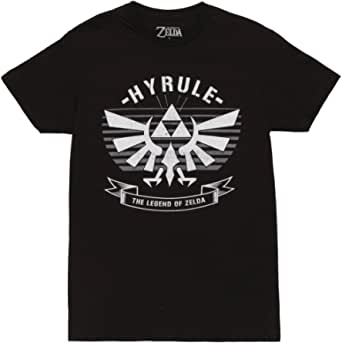 Fifth Sun Nintendo Legend of Zelda Link Hyrule Triforce Crest Adult T-Shirt