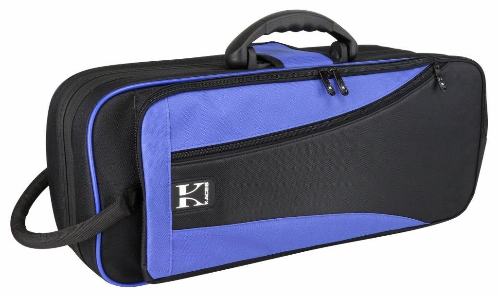Kaces KBO-TRBL Lightweight Hardshell Trumpet Case, Blue