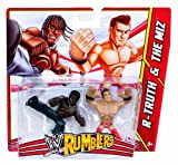 WWE Rumblers The Miz and R-Truth Figure, 2-Pack