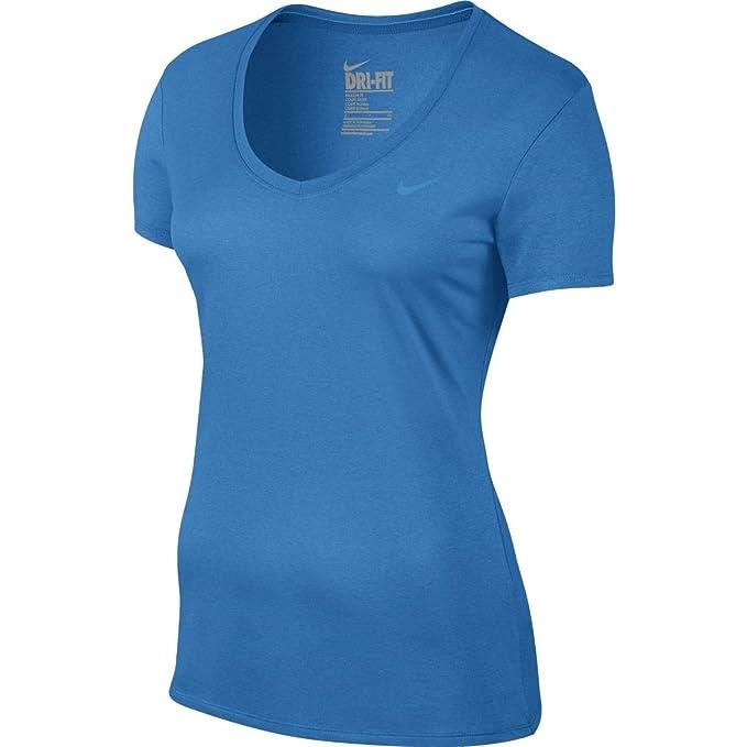 ffc5ca20e6 Amazon.com  Nike Womens V-Neck Legend Short Sleeve Training Tee 2.0 ...