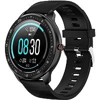 """Tipmant Inteligentny zegarek, fitness trackery z pulsometrem IP68 wodoodporny smartwatch 1,3"""" ekran dotykowy krokomierz…"""