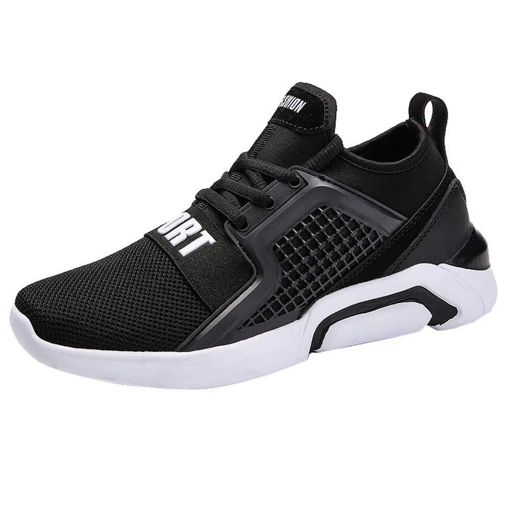 Zapatillas de deporte de mujer,ZARLLE Zapatillas de Deporte con Cojines de Aire Calzado de Running Net para Estudiante Volar Zapatos Tejidos Zapatillas ...