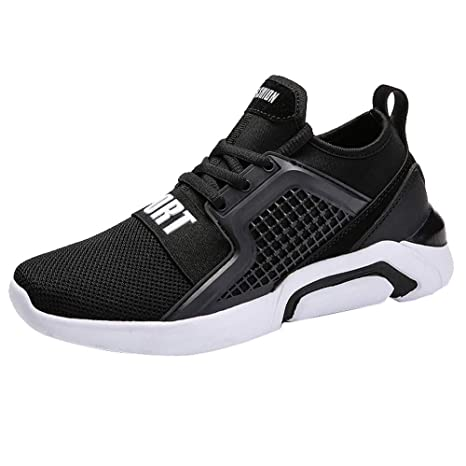 a2e295398363e Dreamyth Uniex Lace-up Mesh Shoes Outdoor Sport Running Shoes Lover Jogging Sneakers  Men Shoes