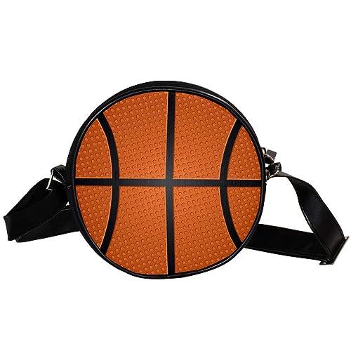 Bennigiry Bolso de mano con textura de balón de baloncesto para ...