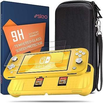 SLEO Funda para Nintendo Switch Lite,3 en 1 Accesorios para ...