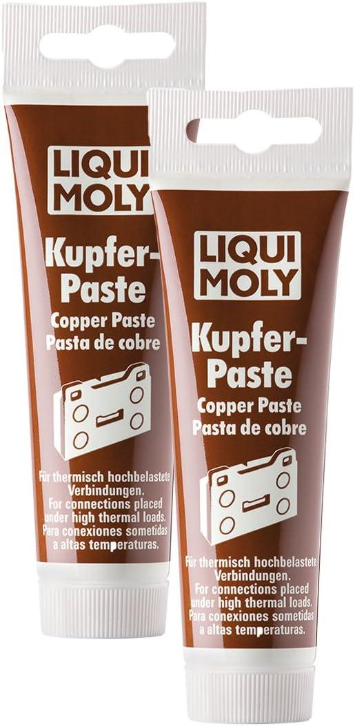 2x Liqui Moly 3080 Copper Paste Copper Grease 100g Auto