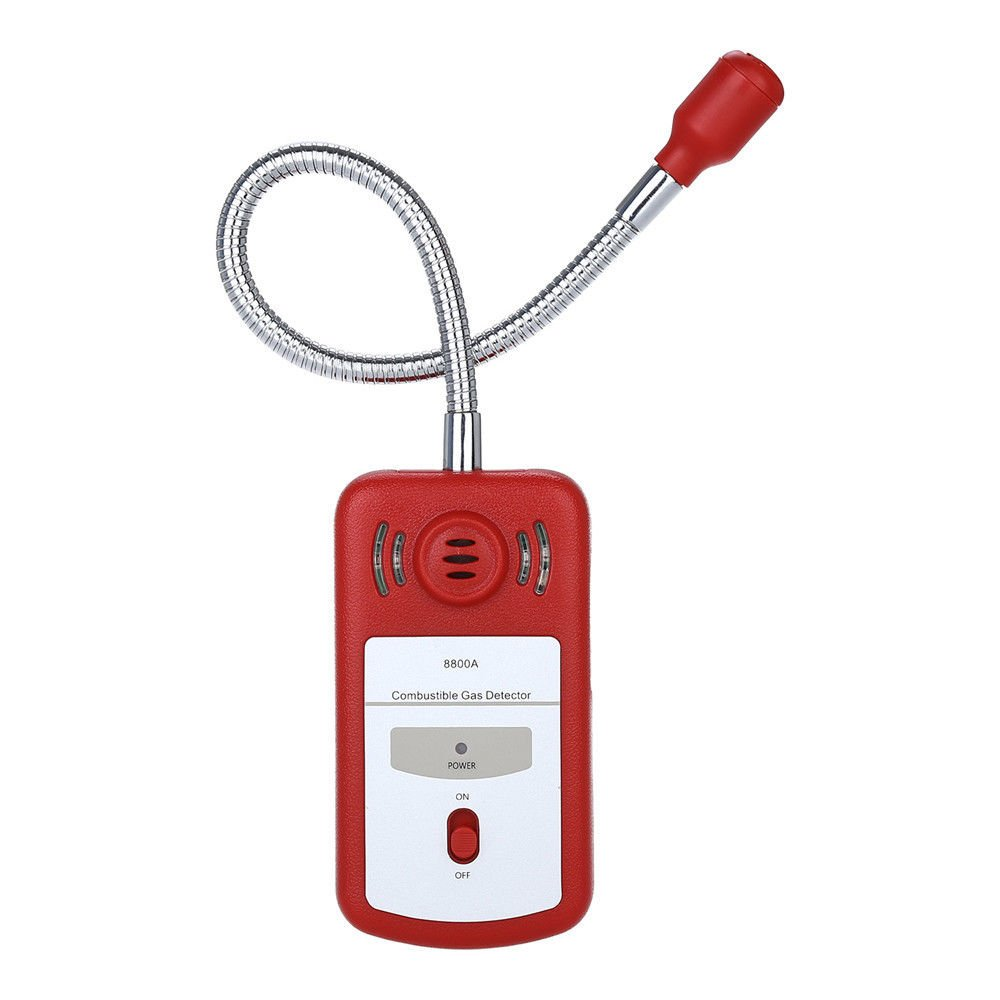 Detector de Fugas de Gas Combustible Sensor sniffer con alarma de luz y sonido