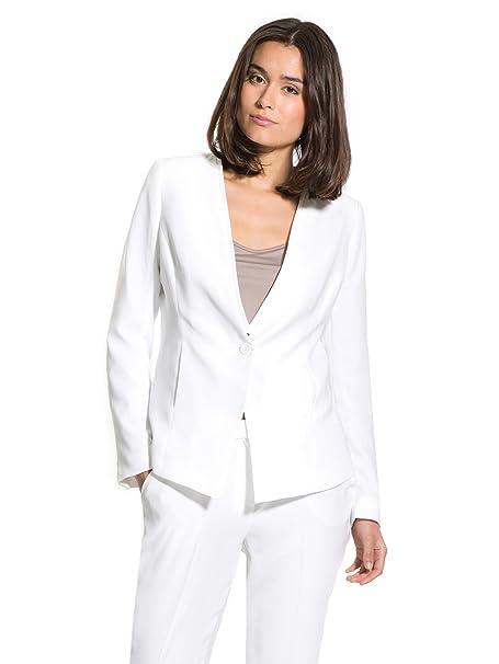 Balsamik - Chaqueta Blanca, Busto Generoso - Mujer - Size : 38 - Colour :