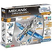 Clementoni - 64996 - Mekanik Laboratuvarı - Uçaklar ve Helikopterler