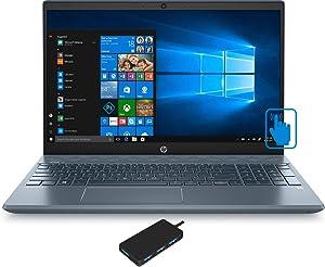 HP Pavilion - 15-cs3073cl Home and Business Laptop (Intel i7-1065G7 4-Core, 16GB RAM, 256GB PCIe SSD + 1TB HDD, NVIDIA MX250, 15.6