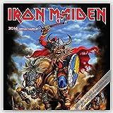 Iron Maiden 2016 Calendar