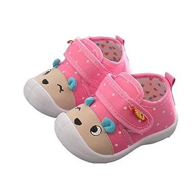 Mealeaf ❤ Infant Kids Baby Boys Girls Cartoon Anti-Slip Shoes Soft 9a5d28f56593