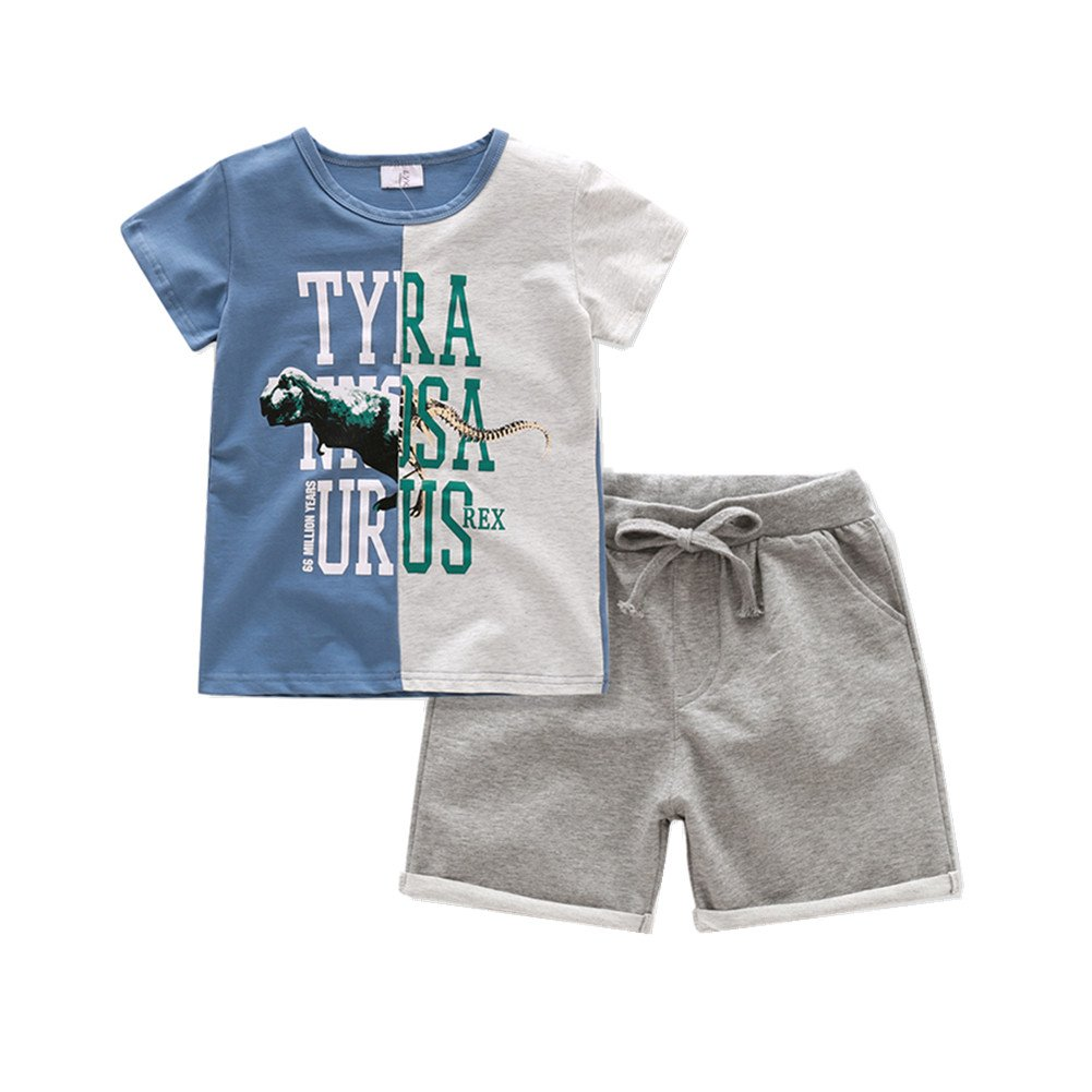Lkysaw Little Boys Clothing Sets, Shar (5T)