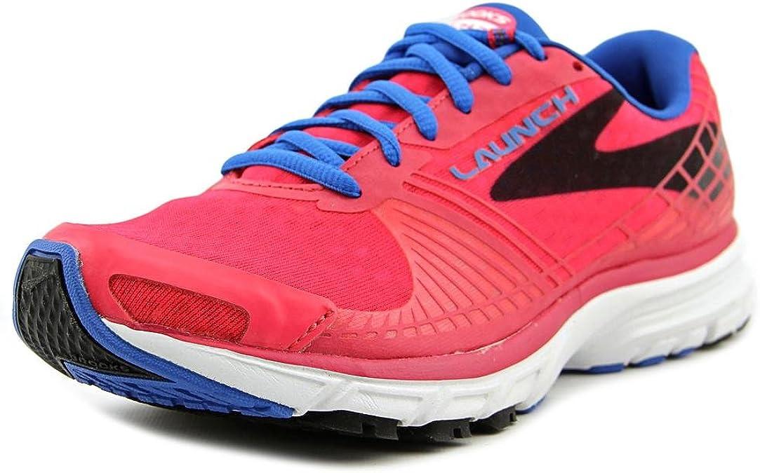 Brooks Launch 3 W, Zapatillas de Running Para Mujer, Rosa (Pink), 43 EU: Amazon.es: Zapatos y complementos