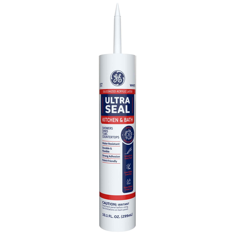 GE Sealants & AdhesivesUltra SealCaulk,10.1oz