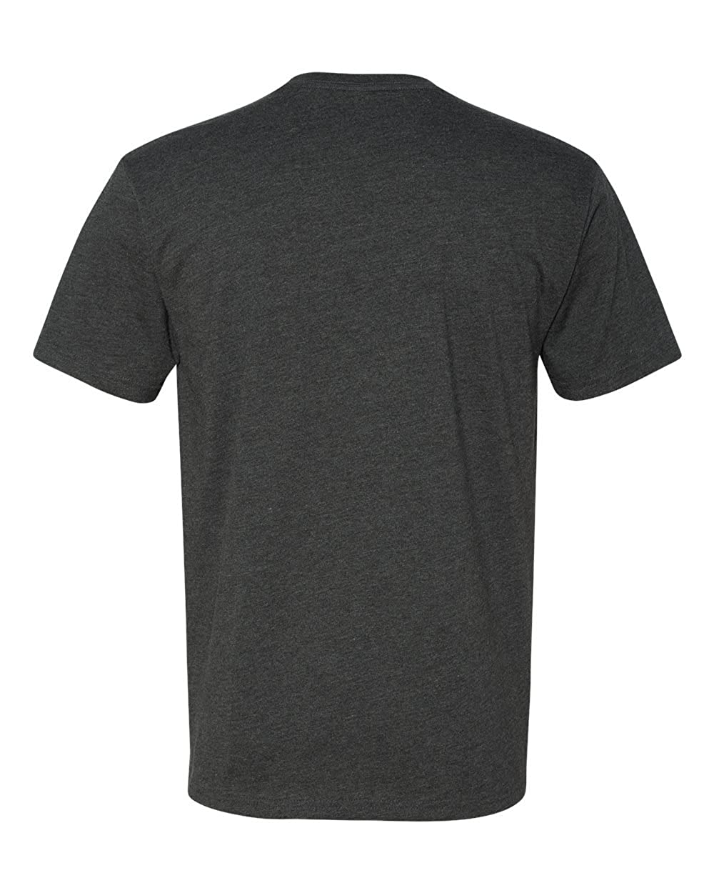 Next Level Premium Fitted CVC Crew Tee Charcoal Large Pack of 5