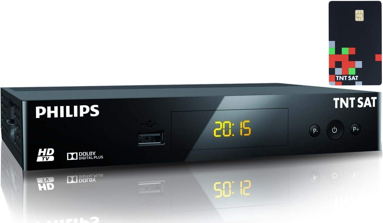 TNTSAT - Receptor TDT TDT - + tarjeta TDTSAT HD Astra (19,2 °) / USB / HDMI / MPEG4 / Full HD / 1080P: Amazon.es: Electrónica