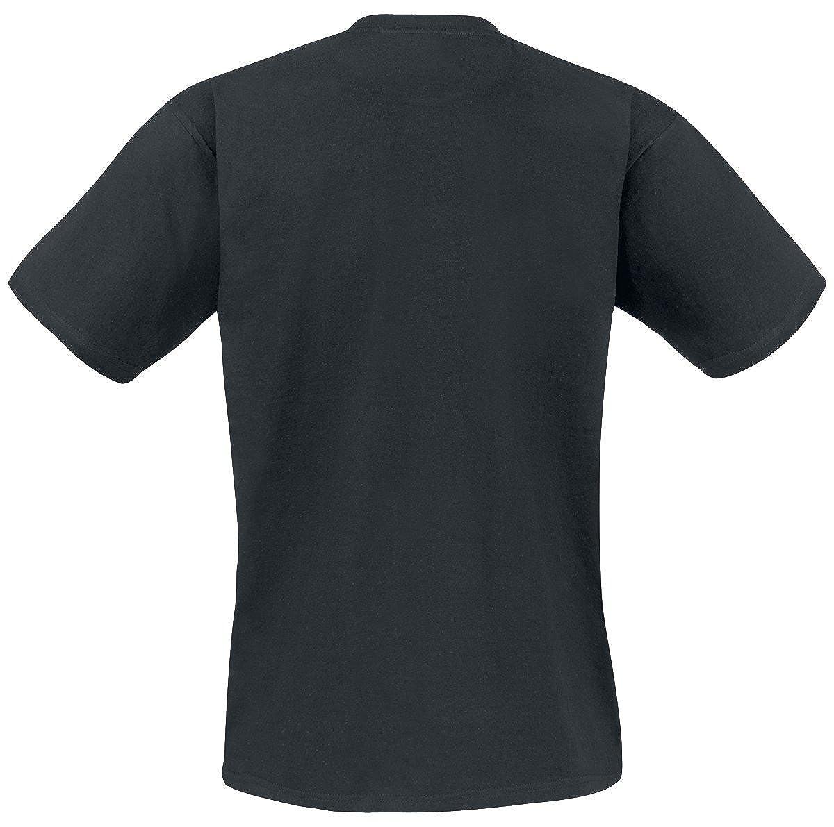05207f91cc6 The Big Bang Theory T Shirt Rock Paper Scissors Lizard Spock Official Mens  Black: Amazon.ca: Clothing & Accessories