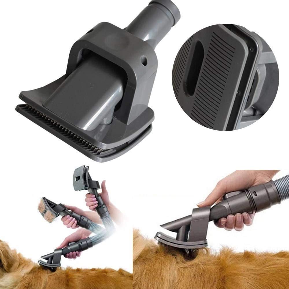 Honfa 1pcs Dyson Pet / Animal Groom Brush, accesorio de perro Dyson para aspiradoras Dyson con 1pcs cepillo de limpieza: Amazon.es: Hogar