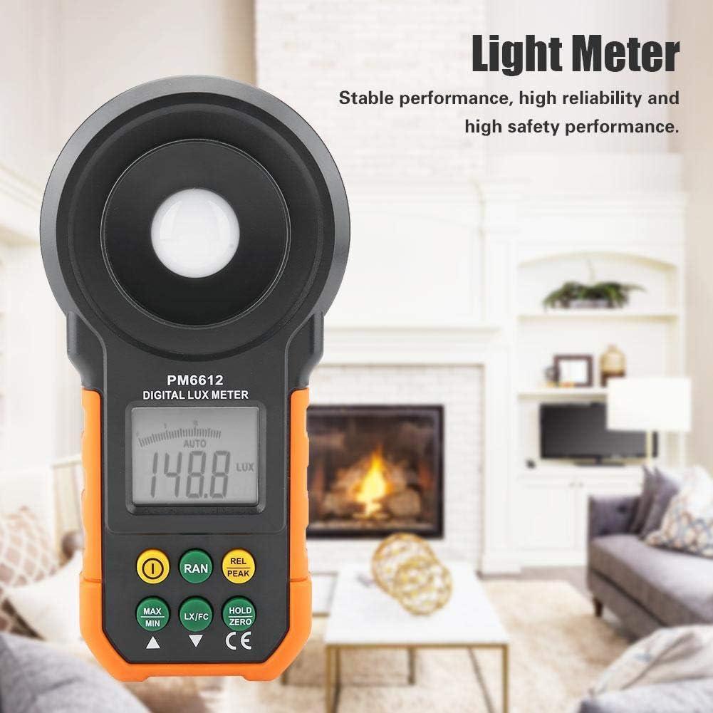 PM6612 wosume PEAKMETER PM6612//PM6612L 200,000Lux High Precision Digital Light Meter Luxmeter