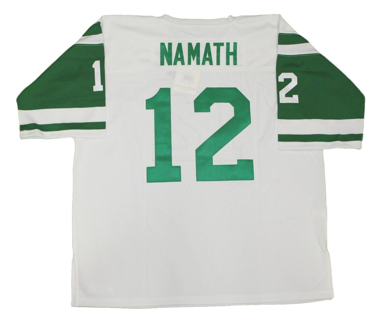 Amazon.com   Mitchell   Ness New York Jets 1968 Joe Namath Authentic  Throwback White Jersey   Sports   Outdoors 5a3700eec