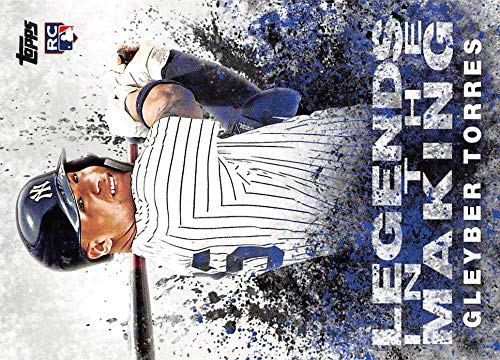 2018 Topps Update and Highlights Baseball Series Legends in the Making #LITM-2 Gleyber Torres New York Yankees Official MLB Trading Card