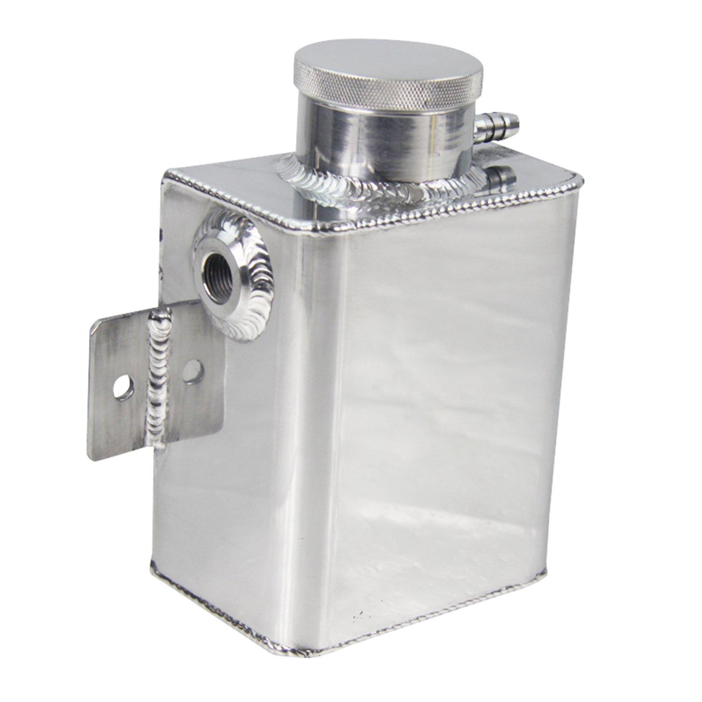 ALLOYWORKS Aluminum Coolant Expansion Catch Tank + Billet Cap by ALLOYWORKS (Image #2)