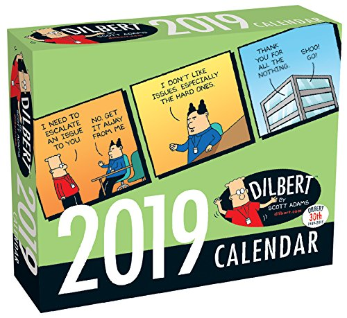 Book cover from Dilbert 2019 Day-to-Day Calendar by Scott Adams