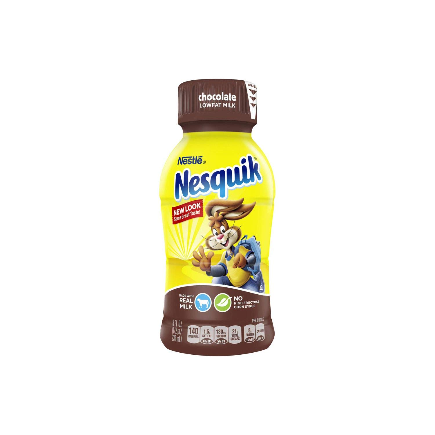 Nestle Nesquik Chocolate Lowfat Milk (8 oz. bottles, 15 pk.) (pack of 2)