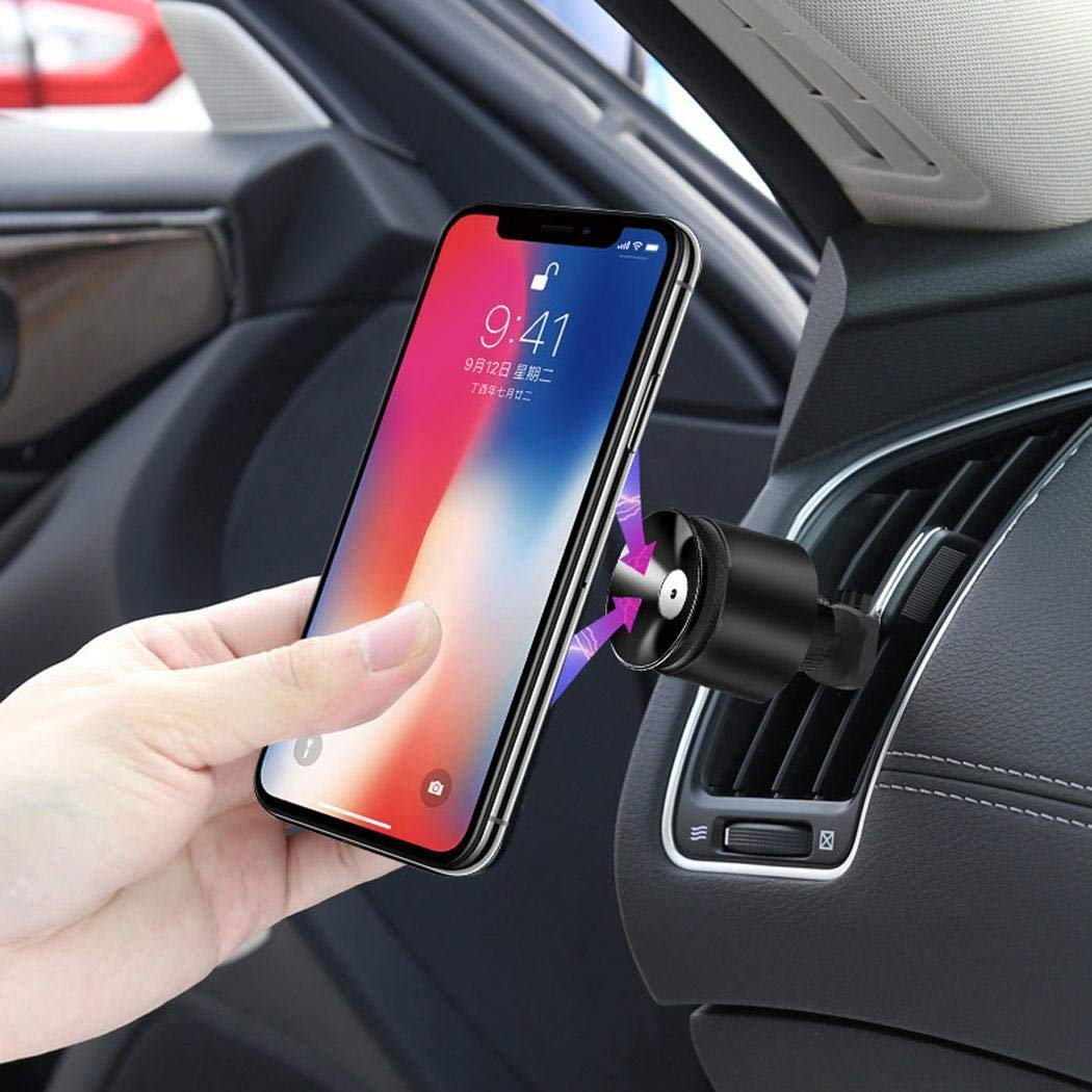 lazinem Auto Car Air Outlet One Hand Operation Phone Holder for Smart Phone Brackets