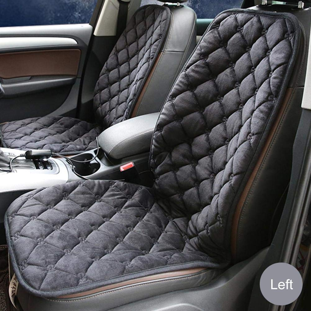 Car Heated Seat Cover 12v Thickening Heater Cushion Warmer Hot Auto Heat Pad-winter For Coming Cold Winter Days Intelligent Temperature Controller Pad Heating Vehicle Universal Multifunction Dc Carbon Comaie®