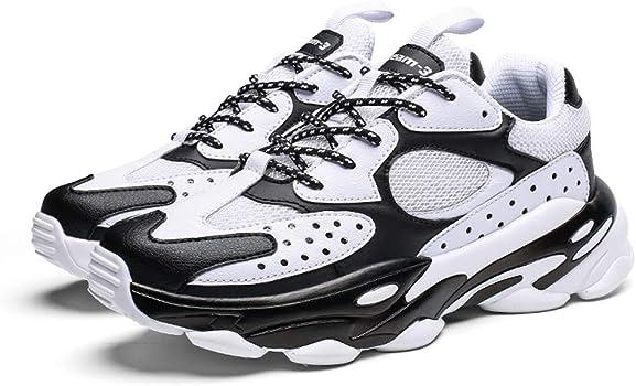 Btruely Zapatos de Running para Hombre Mujer Zapatillas Deportivo Outdoor Calzado Asfalto Sneakers Zapatillas Deportivas Air Cordones Zapatillas de Running Fitness Sneakers: Amazon.es: Ropa y accesorios