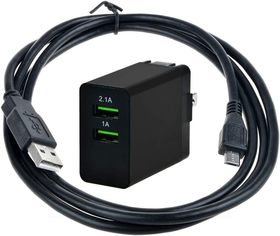 Uniq-bty USB Ports AC Adapter Charger for Hp Touchpad 16 Gb 32 Gb Wi-fi 9.7-inch Tablet Tab Pad Computer FB341AA FB341AA#ABA, FB355UA FB355UA#ABA, FB359UA FB359UA#ABA Power Supply