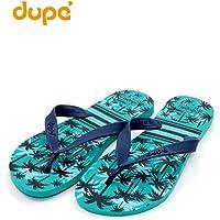 Dupe Green Flip Flop Thong Design Slipper for Mens