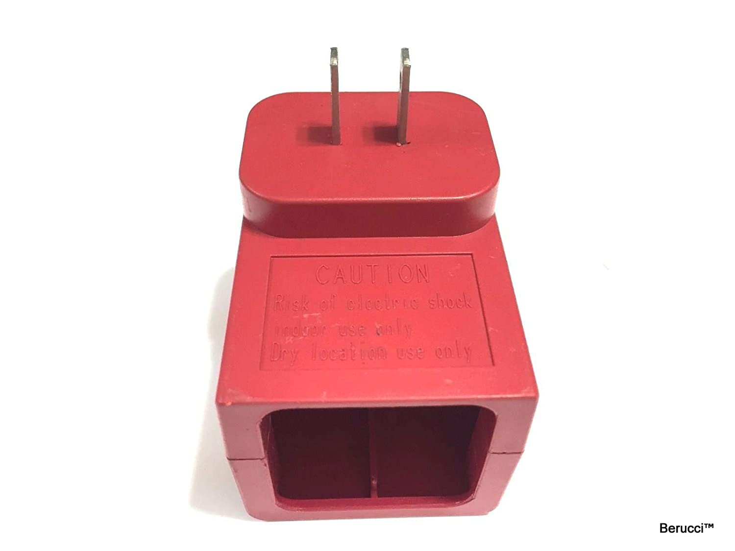 BerucciTM Red 7.2V Charger for Swivel Sweeper G1 G2 G3 Max