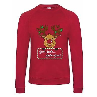 New Unisex Adult Kids Festive Rudolph Bambi Reindeer Matching Christmas Jumpers