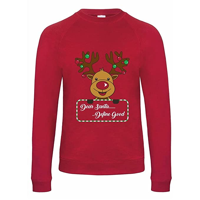 Style It Up Sudadera para Hombre con diseño navideño de Navidad, de algodón Rico: Amazon.es: Ropa y accesorios