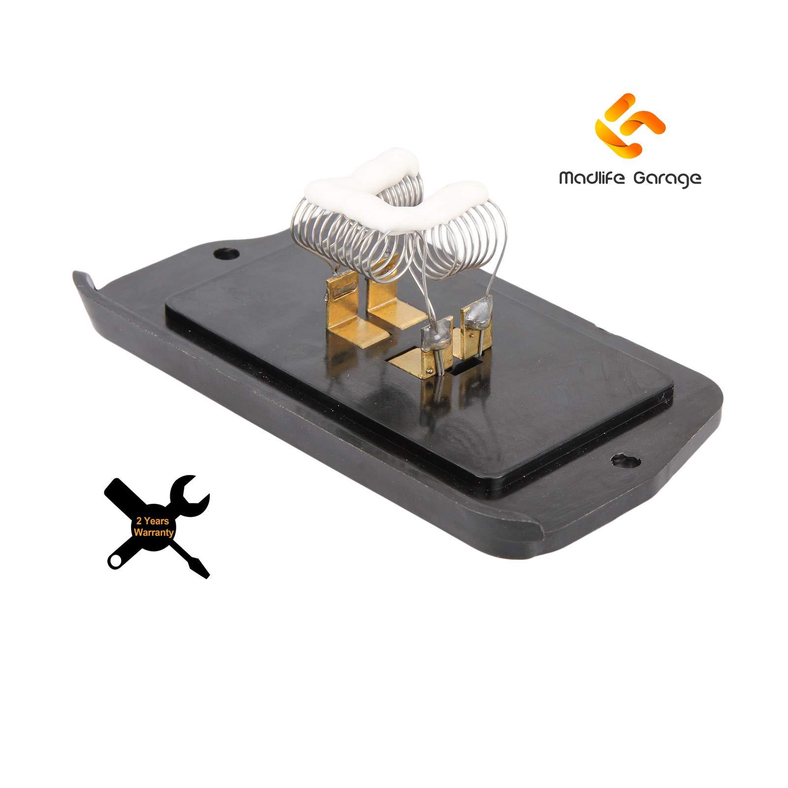 Madlife Garage Motor Blower Fan Resistor Heater Resistor JGH10002/ 79330ST3E01