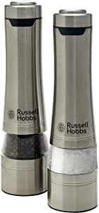 Russell Hobbs Salt & Pepper Mills, Brushed