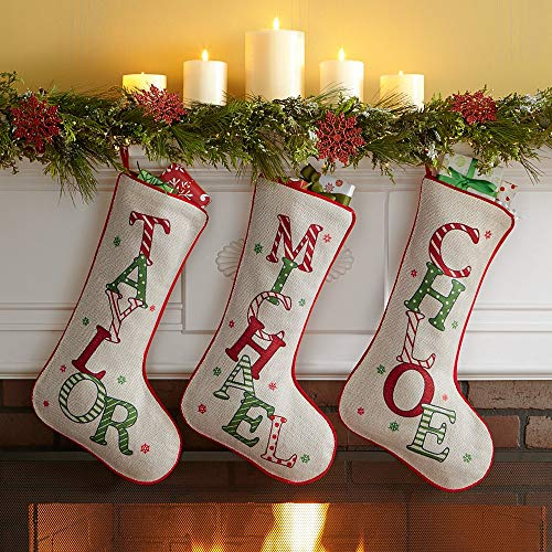 Personal Creations - Personalized Gifts Festive Name Christmas Stocking -