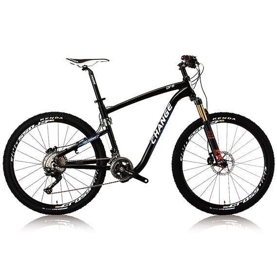 Change la bicicleta plegable de la montaña del tamaño ligero de 26 pulgadas lightwegiht Shimano XT 2x11 acelera DF-602BF: Amazon.es: Deportes y aire libre