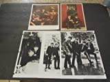 Five Assorted Vintage Beatles Photos And Postcard