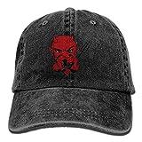 Buecoutes Funny Devil Vintage Cowboy Baseball Caps Trucker Hats